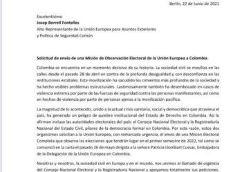 Sociedad civil pide misión de observación internacional para elecciones del 2022